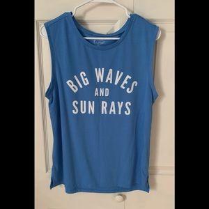Big Waves and Sun Rays Tank